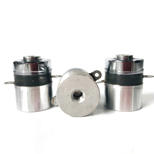 60W Ultrasonic Oscillator Piezoelectric Transducer 100KHz High Frequency Ultrasonic Transducer for Industrial Cleaning