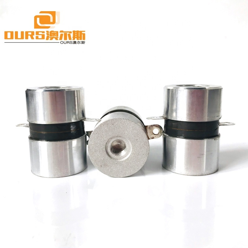 High Frequency Ultrasonic Washing Machine Component 135KHz 50W Piezoelectric Ultrasonic Transducer