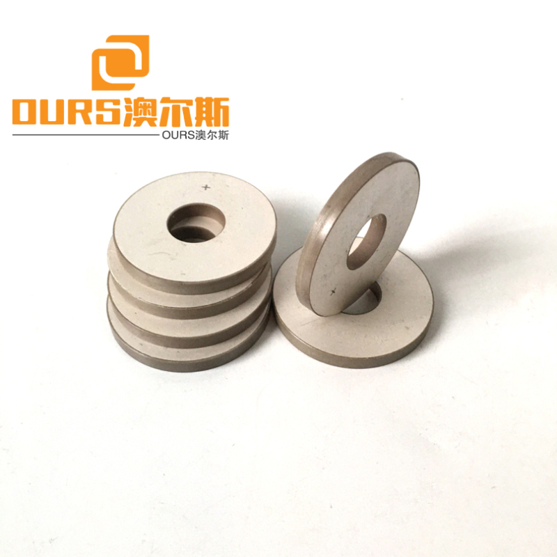 50X17X5mm piezoelectric ceramic materials Pzt-8 for Deerskin Air cotton mask ultrasonic welding transducer