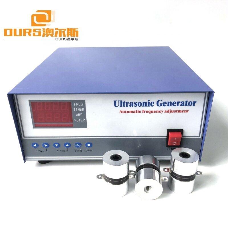 1800W Adjustable Single Frequency Ultrasonic Generator 40KHz 28KHz For Industrial Ultrasonic Cleaning Machine