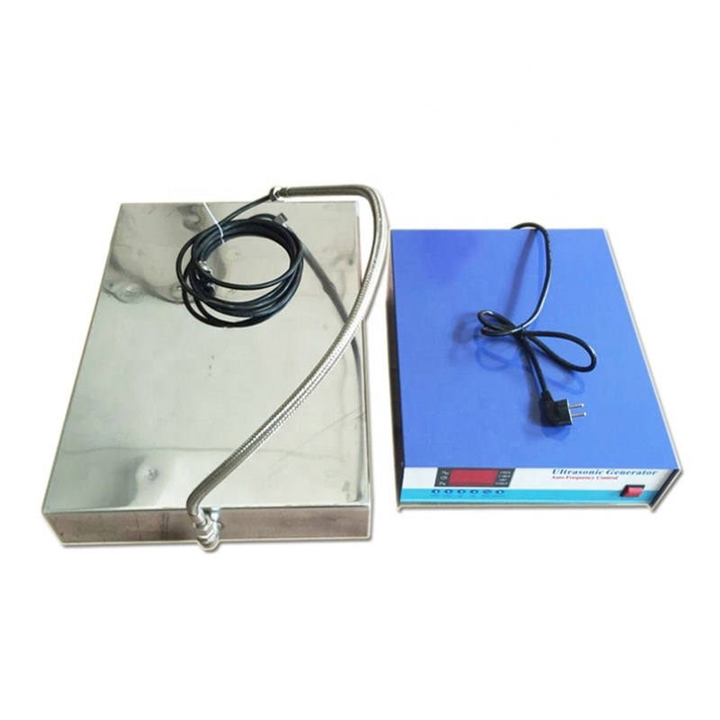 316 Stainless Steel Material Customized Immersible Ultrasonic Transducer Piezoelectric Vibration Sensor Box For Cleaner Slot