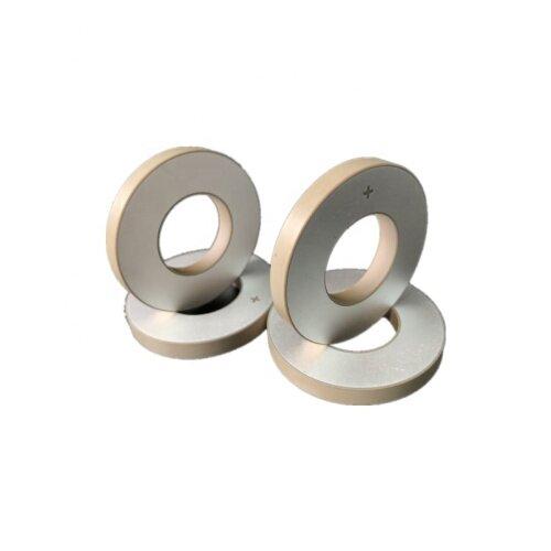 Low Cost Factory Supply Cleaning Ring Piezoelectric Ceramic 40x20x5MM Sensor Kit PZT8 Piezoceramic Warranty 1Year