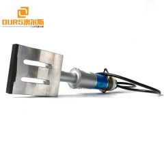 Ultrasonic Surgical Nonwoven Face Mask 110MM*20MM Welding Transducer And Horn For Mask Sealing Machine