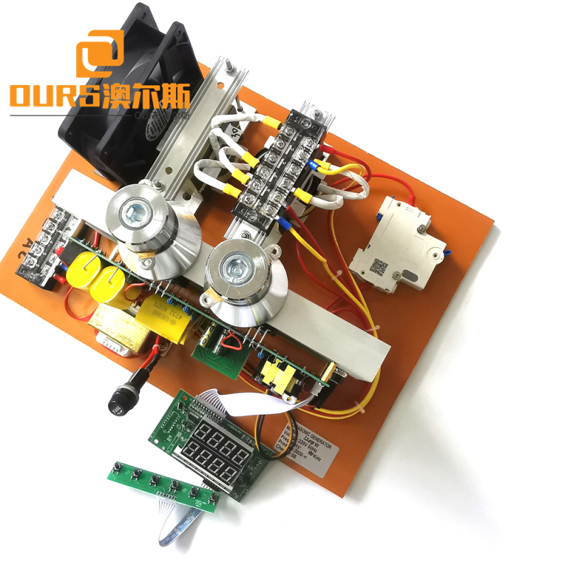 28khz 600W Ultrasonic PCB Generator For Cleaning of Wheel hubs and Various Precision Parts
