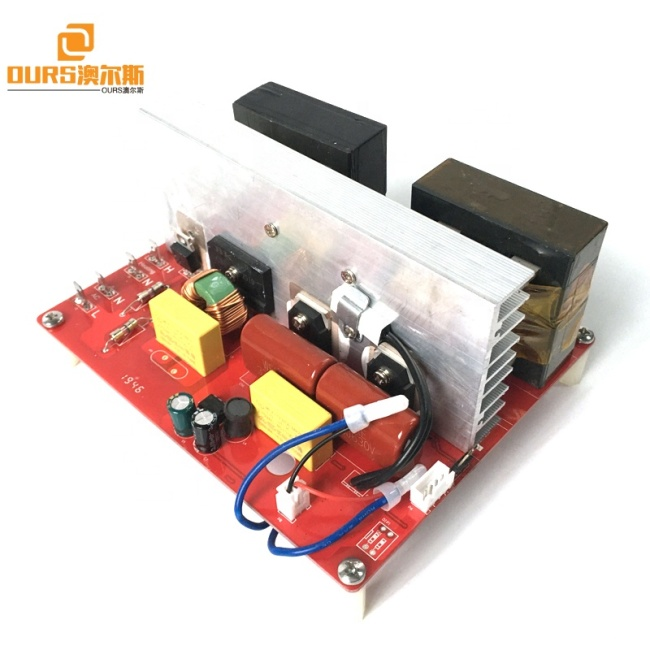High Frequency Small Ultrasonic Generator Board 54KHZ Transducer Driving Power PCB 100W AC110V-AC230V 50-60HZ