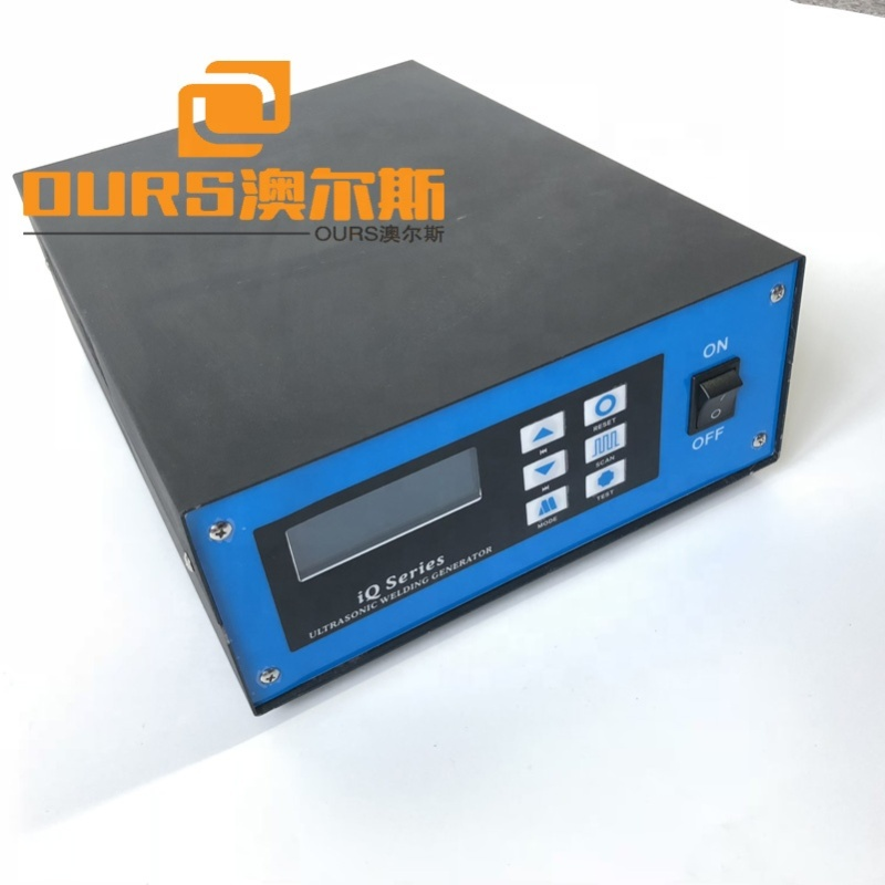 28khz ultrasonic Spot welding generator with transducer and Standard tool head