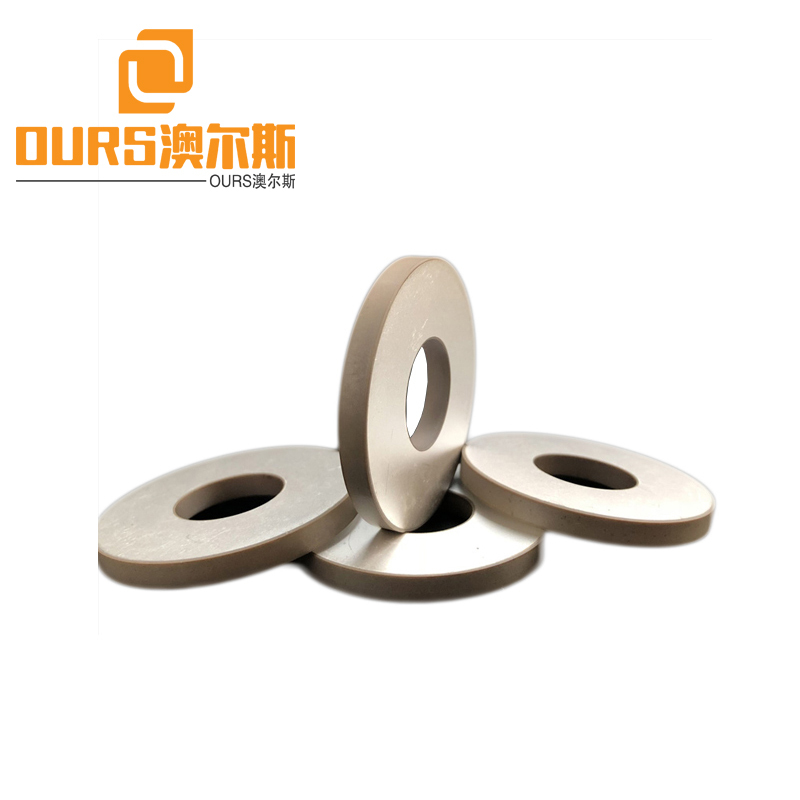 50X20X6mm Ring Pzt 8 Piezoelectric Ceramics Ring For Biodiesel Mixing Transducer