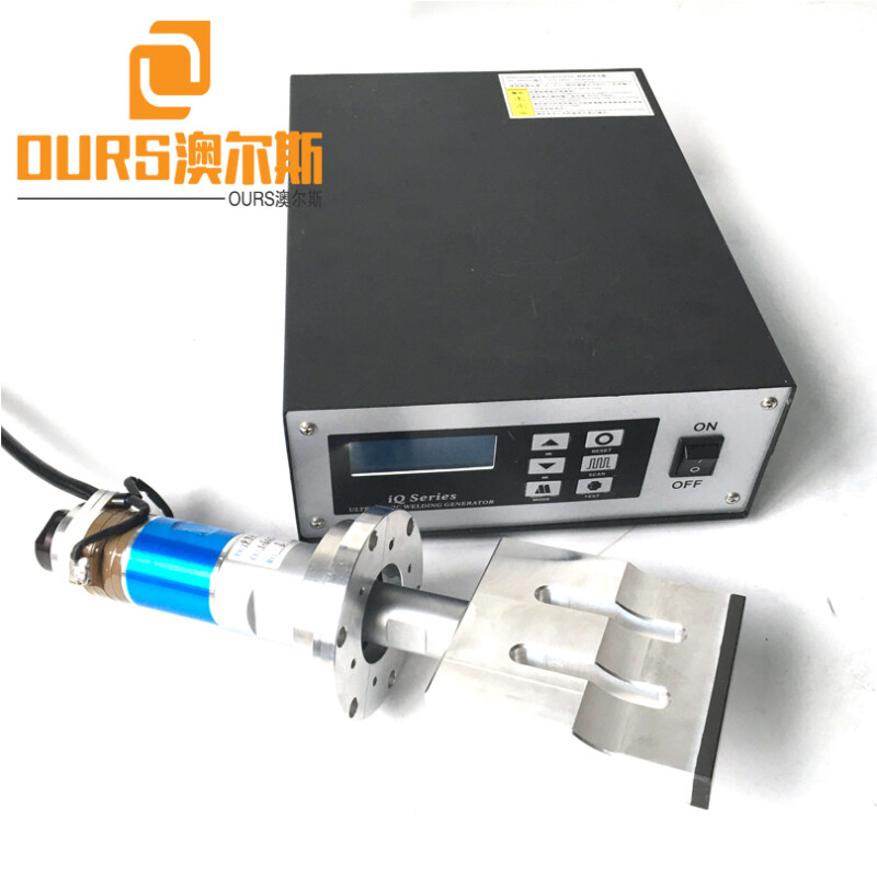 15KHZ/20KHZ 2000W  Ultrasonic Welding Generator with horn for Disposable Flat Outside Ear Loop Face Mask Welding Machine