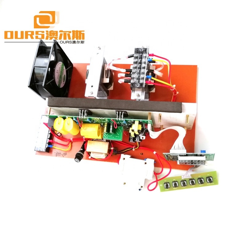 High Frequency 48KHz-135KHz Ultrasonic Generator PCB Driver Circuit Board 900W