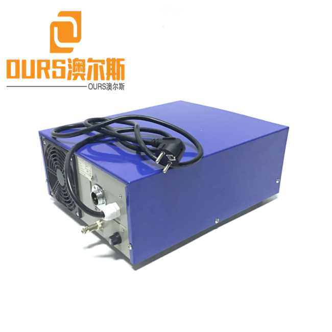 38khz/80khz Double Frequency Ultrasonic cleaning Vibration Generator for electronic, optics,medical,photovoltaic,labware, lens