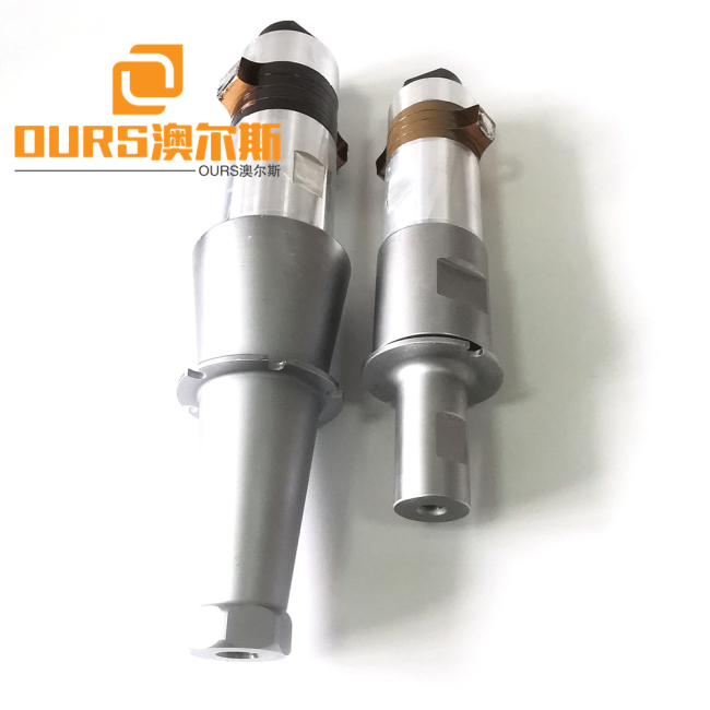 Ultrasound 15khz Ultrasonic Welding Transducer 2600w Ultrasonic Cutting Transducer