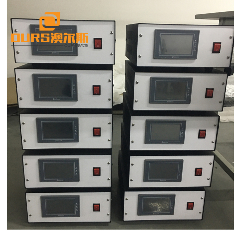 20KHZ Welding Transducer Machine Horn Power  for Nonwoven Face Mask Making Machine
