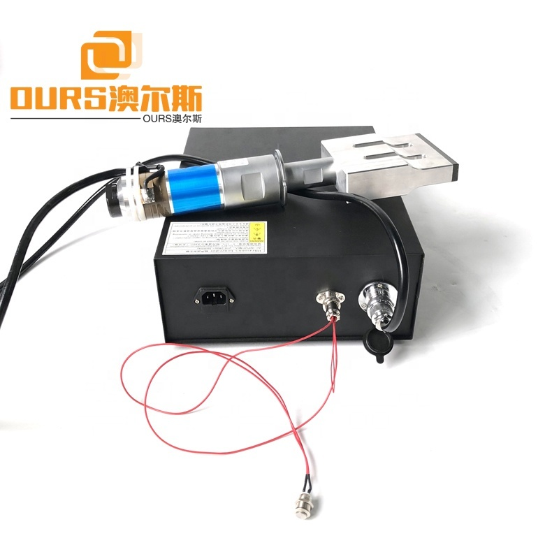 15K/20K 2000W Ultrasonic Welding Generator And Transducer With Horn Used For N95 Surgical Masker Welding Machine