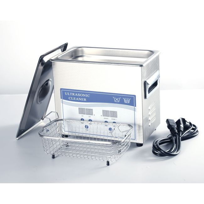 2L Desktop Industrial Ultrasonic Cleaner machine Firearms / Bullet Ultrasonic Gun Cleaner Stainless Steel With Baskets