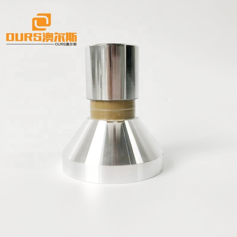 Low Frequency Piezoelectric Ultrasonic Transducer 17KHz 50W For Cleaning
