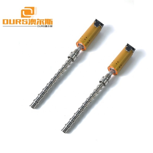 1500W Titanium Alloy Ultrasonic Tube ReactorUse to Ultrasonic Dispersion Extraction Emulsification Defoamer Processing