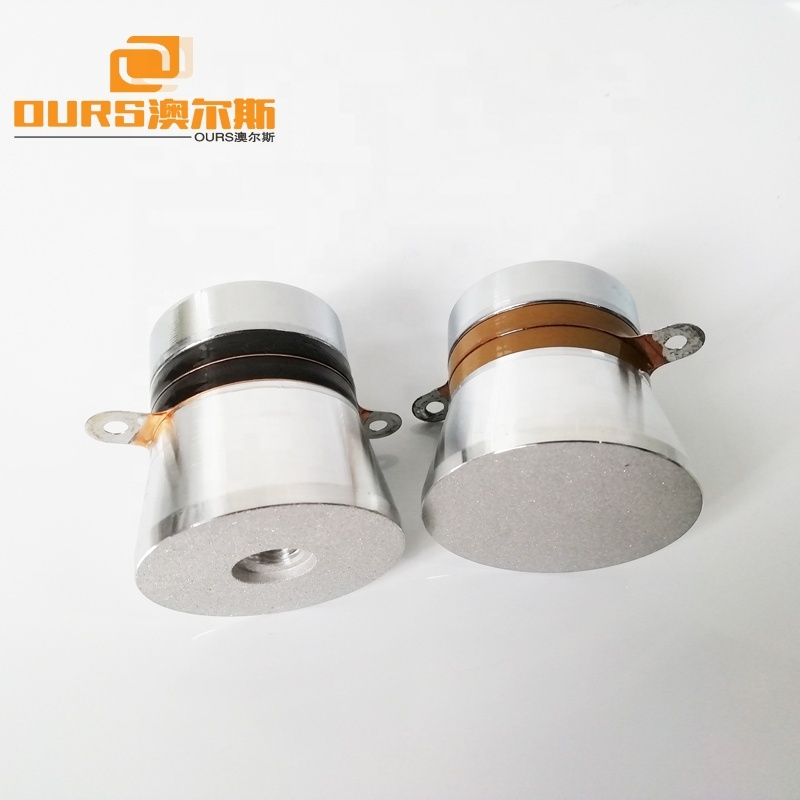60W Ultrasonic Power Transducer 40KHz Frequency Piezoelectric Ultrasonic Transducer For Cleaning