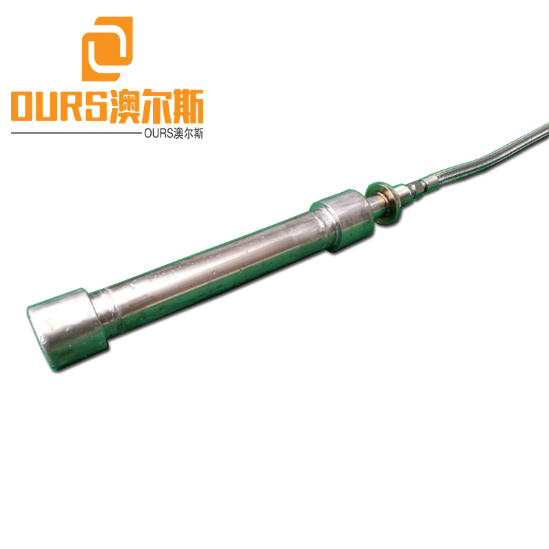 SS316 stainless steel Tubular Transducer Ultrasonic Reactor Cleaning Or Refinement Of Scavenge Oil And Palm Oil