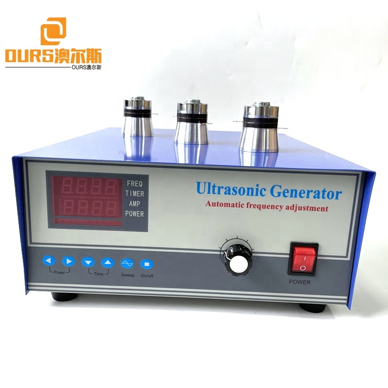 200W To 1000W Power Adjustable Ultrasound Generator As Piezoelectric Sensor Cleaner Bath Engine