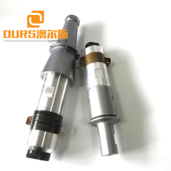 Ultrasonic Welding Driving Power Supply High 2600w Power Ultrasonic Transducer With Booster
