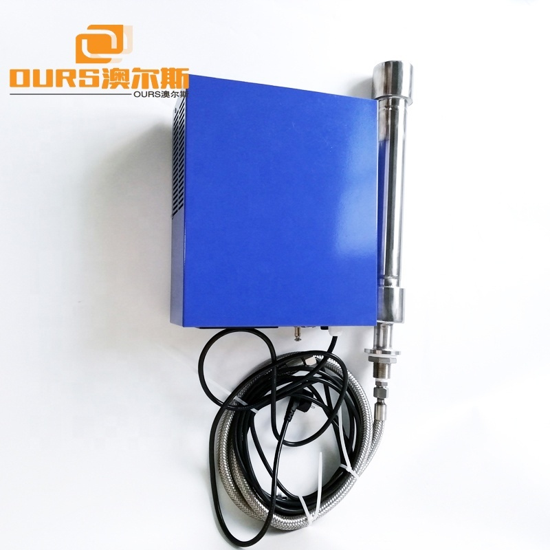 1500W Immersion Ultrasonic tubular Reactor 25KHz Ultrasonic Transducer For Ultrasonic Cleaner