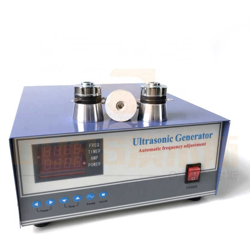 Pulse Wave 2400W Cleaning Ultrasonic Generator Industry Ultrasonic Cleaner Power Generator 28KHZ With Display Board