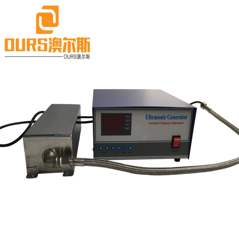28KHZ/40KHZ 1800W Stainless Steel Immersible Ultrasonic Cleaning Transducer With Generator