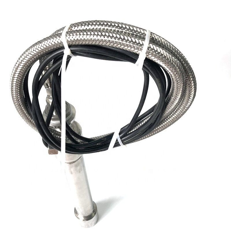 900Watt Immersion Round Pipe Ultrasonic Signal Transducer Pharmaceutical Industry Cleaning Transducer Stick And Ultrasonic Power