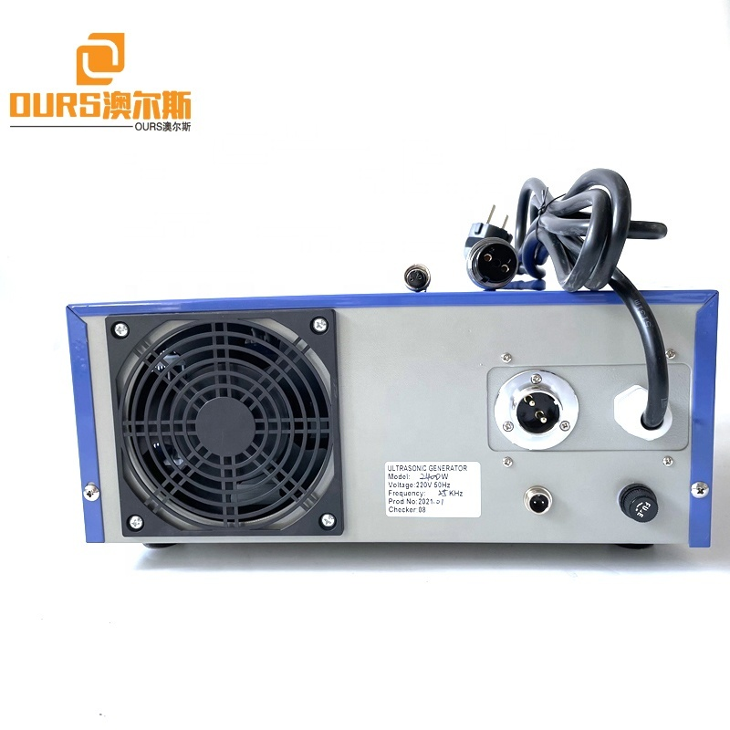 28K 2000W Ultrasonic Cleaning Generator Power Adjustable Used In Industrial Submersible Washing Filter Machine