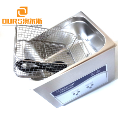 Stainless Steel 6L Liters 180W Ultrasonic Cleaner with Digital Heater And Timer Function For Dental Parts Cleaning