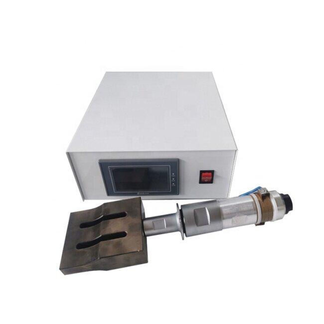 20K 2000W Ultrasonic Welding Generator Transducer Used For  Mask 3 Ply Ear Strap Automatic Ultrasonic Welding Machine