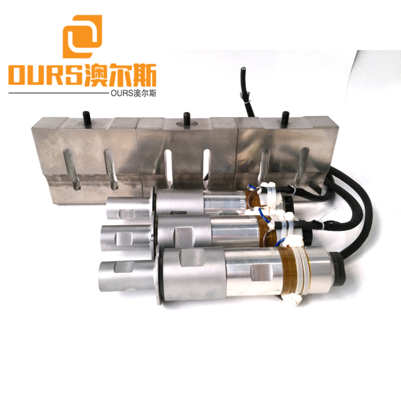 Factory manufacturing 2000W 20KHZ Ultrasonic Generator Transducer Booster Horn For Surgical Face Mask