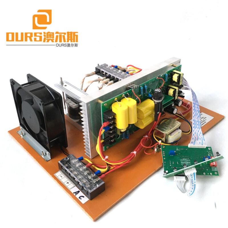 28KHZ 300W Low Power Digital Ultrasonic Piezoelectric Generator PCB Of Remove Coke