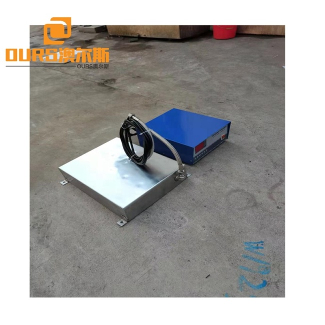 Waterproof Ultrasonic Submersible Transducer Cleaner Plate 28K 5000W Used For Industrial Cleaner Bearing Metal Parts Oil Rust