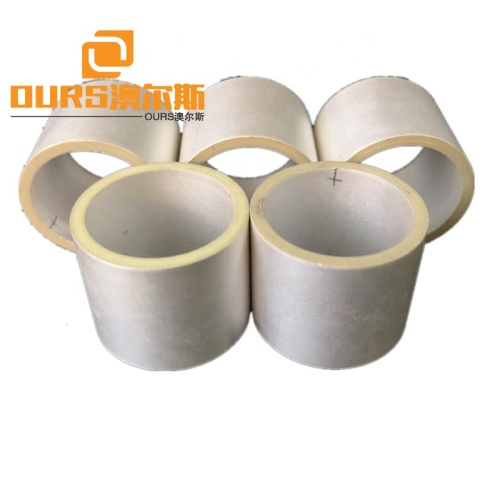26x22x25MM Tubular Ceramic Wafer 33KHZ-38KHZ Ultrasonic Piezoelectric Ceramic Tube Shape Application To Cleaning Transducer
