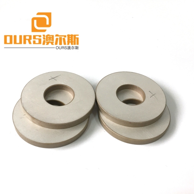 Customizable P8 P4 Material 50mmX3mm Disc Shape Piezoelectric Ceramic For Ultrasonic Cleaner