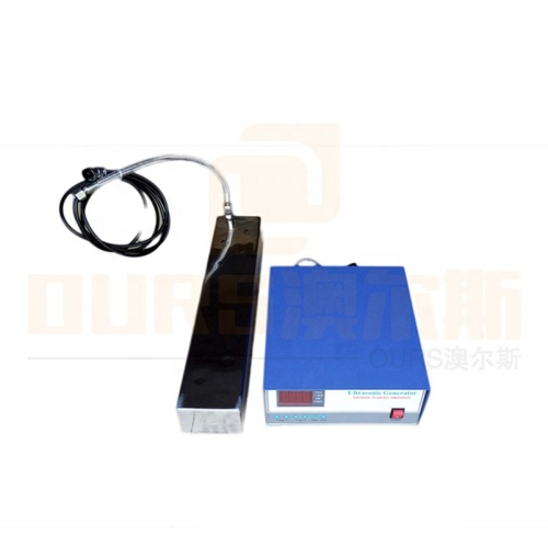 Factory Customized Waterproof Ultrasonic Submersible Transducer Immersible Ultrasound Transducer Plate For Cleaning PCB