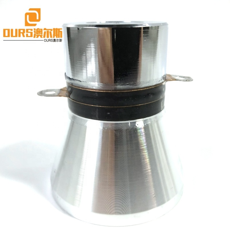 Industry Single Frequency Piezo Ultrasonic Cleaning Transducer 60W Cleaner Ultrasound Transducer Accessories  28K With CE
