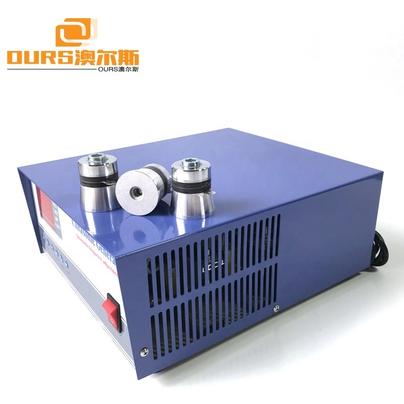 600W Ultrasonic Frequency Generator Control Box 28KHz/40KHz Ultrasonic Cleaning Generator For Industrial Parts Cleaning