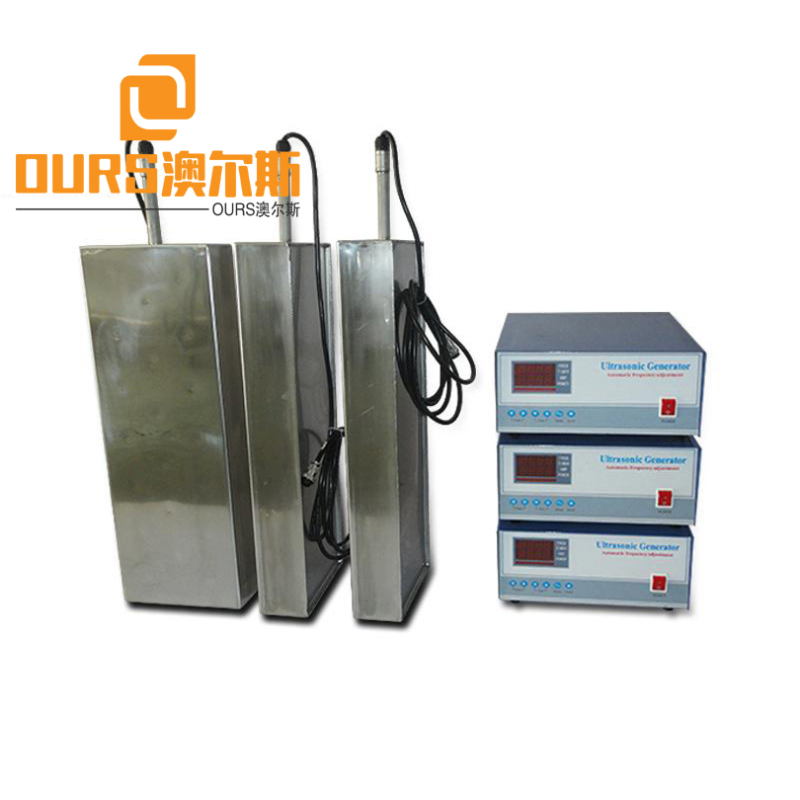 20KHZ/25KHZ/28KHZ/40KHZ 7000W Manufacture Ultrasonic Transducer Immersed Plate For Auto Parts Cleaning