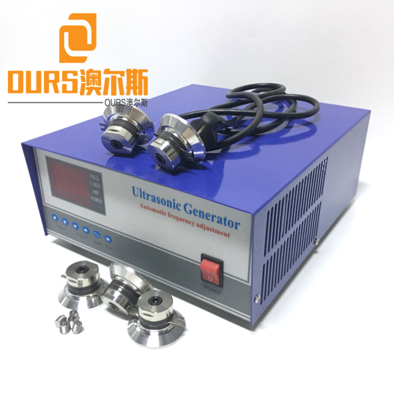 28KHZ/40KHZ 2400W Factory Produced Industrial High Power Ultrasonic Sound Generator For Cleaning Car Parts