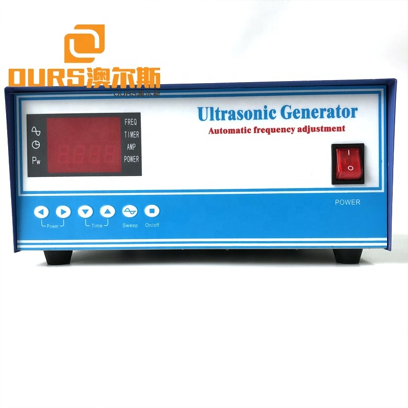 Automatic Frequency Sweep Cleaning Device Engine RS485 Ultrasonic Sweep Generator Module Industrial Cleaner Generator