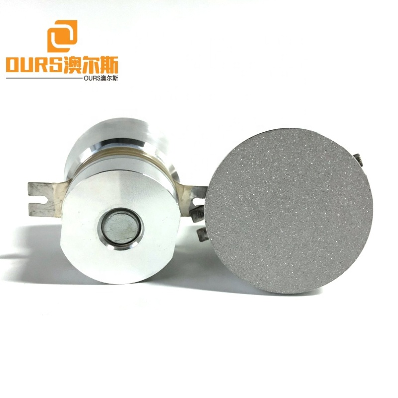 PZT8 Piezoelectric Material Ultrasonic Transducer 40KHZ Frequency Industrial Ultrasound Cleaning Transducer For Cleaner Bath