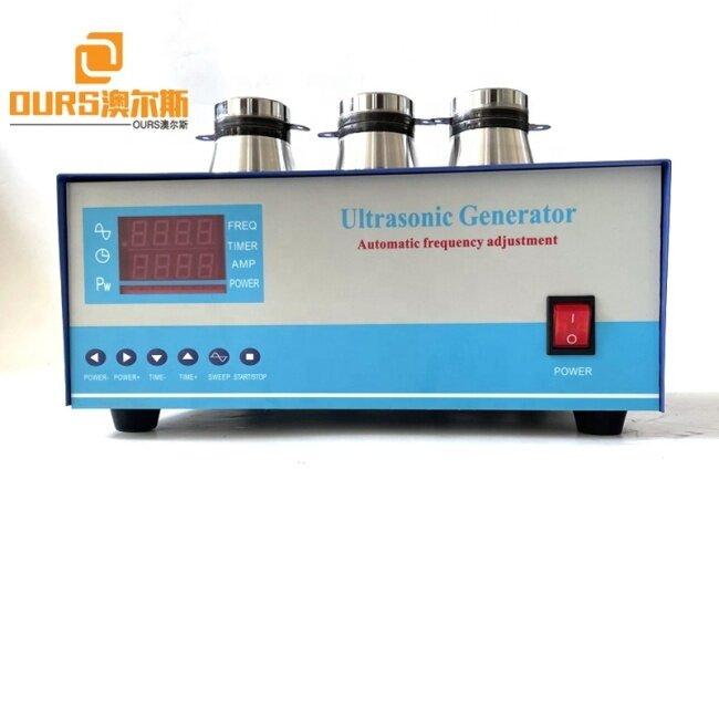 Digital Pulse Ultrasonic Generator 28Khz 2400W Used On Rim Diesel Engine Cylinder Head Cleaning Machine
