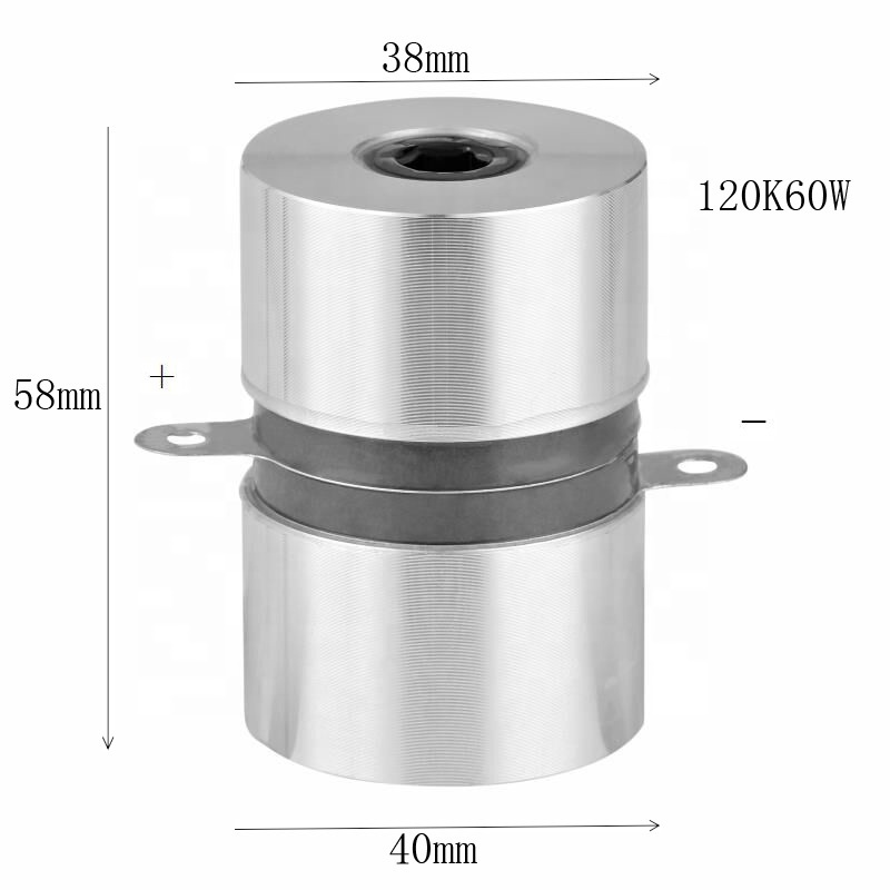 120khz/60w High frequency ultrasonic transducer for ultrasonic cleaning generator with CE