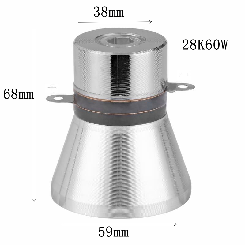 60w 28khz Professional manufacturer ultrasound cleaning transducer