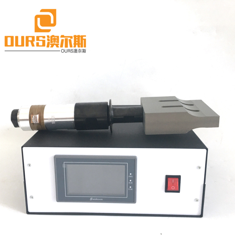 15KHZ/20KHZ Digital Touch Ultrasound Generator And Horn For Medical Level Semi-Automatic 3-Layer  Making Machine