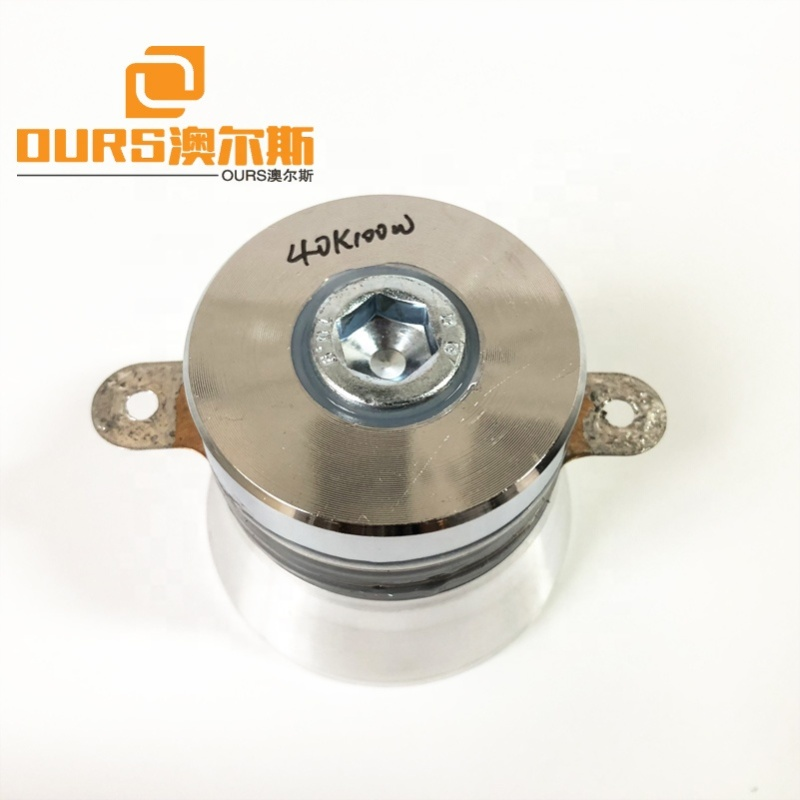 100W 40KHz Ultrasound Cleaner Parts Piezoelectric Ceramic Ultrasonic Cleaning Transducer  Wholesale