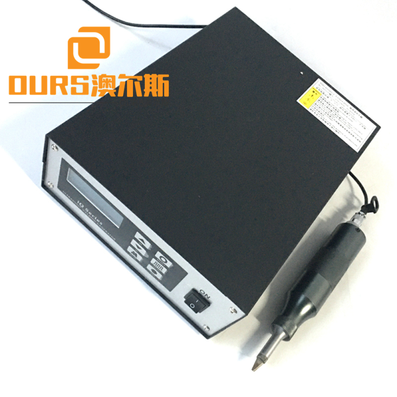 500W 25khz sonic knife for cutting plastic price include generator and  transducer and horn and Ultrasonic cutting knife