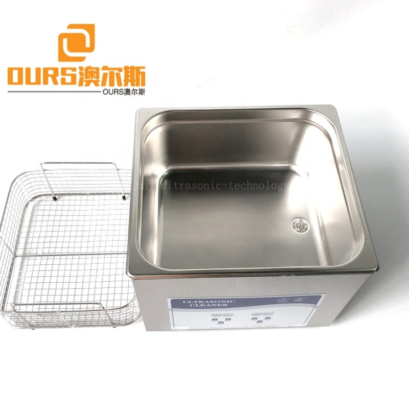 15L Instrument Mechanical Digital Ultrasonic Cleaner For Electronic Components Ultrasonic Cleaning 40KHZ 360 Watt